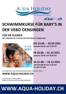 aqua-holiday babyschwimmen oensingen
